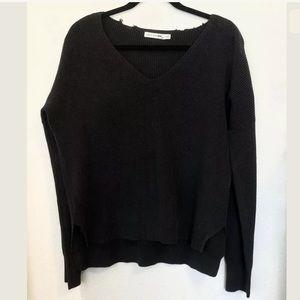 Rag & Bone Womens Taylor Washed V-neck Sweater-Med